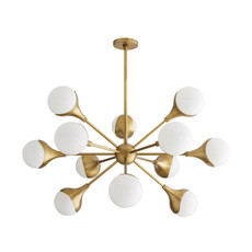 Augustus Chandelier - Antique Brass