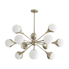 Augustus Chandelier - Pale Brass
