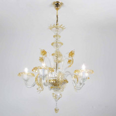 Giorgione Chandelier - 5 Lights