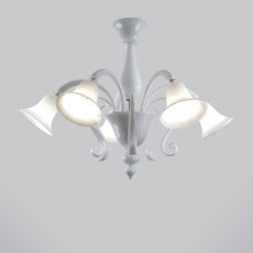 Tiziano White Ceiling Fixture