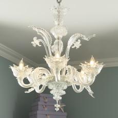 Ariel's Classic Chandelier - 5 Lights