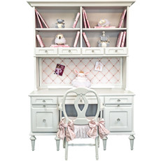 Princess Desk and Hutch