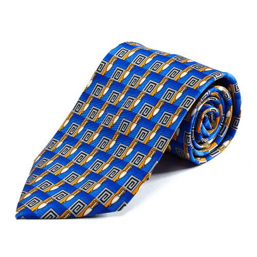 100% Silk Handmade Grecian Urn Tie
