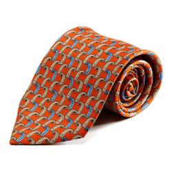 100% Silk Handmade Flying Buttress Tie