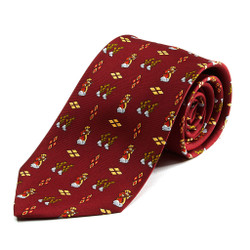 100% Silk Handmade Mariachi Tie