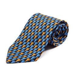 100% Silk Handmade Greek Column Tie