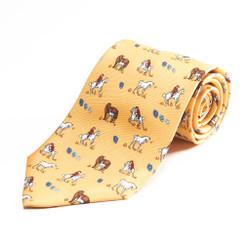100% Silk Handmade Caballero Tie