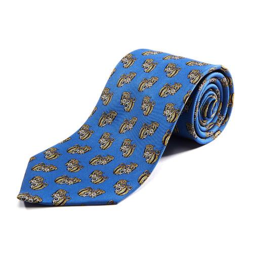 100% Silk Handmade Tribal Pots Tie