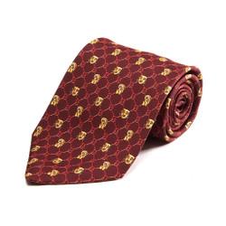 100% Silk Handmade Mayan Mask Tie