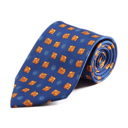 100% Silk Handmade Ancient Monolith Tie