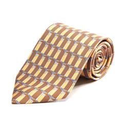 100% Silk Handmade Roman Column Tie