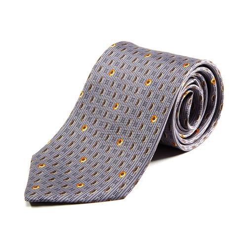 100% Silk Handmade Hexagonal Nut Tie
