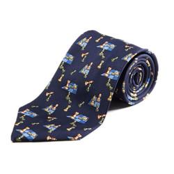 100% Silk Handmade Chessmen Tie