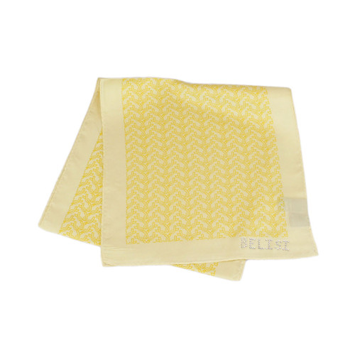 Support Our Troops Yellow Ribbon Long Silk Scarf