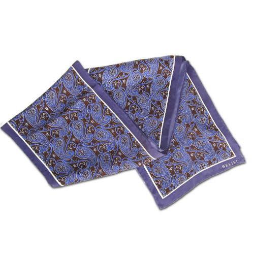 Royal Paisley Silk Scarf by Belisi