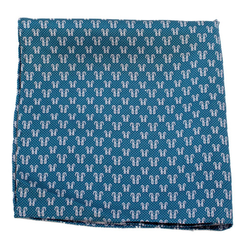 Hot Dots Silk Pocket Square or Handkerchief by Belisi