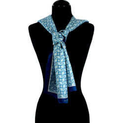 Ice Cold Refreshments Silk Scarf