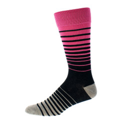 Mens Bright Stripe Dress Sock