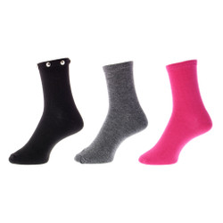 Studded Delite Women's Socks 3 Pair Set