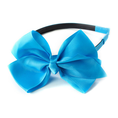 School is Out Grosgrain Ribbon Headband