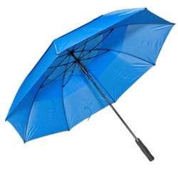 Professional Fiberglass Golf Umbrellas in Royal Blue