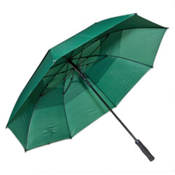 Professional Fiberglass Golf Umbrellas in Forest Green