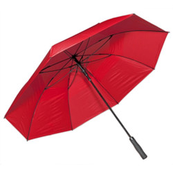 Professional Fiberglass Golf Umbrellas in Red