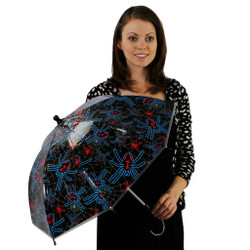 Slinky Spidey Childrens Umbrella with Spider Web Canopy