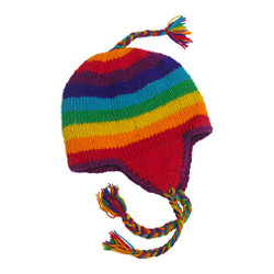 Rainbow Nepal Hats