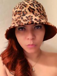 Reversible Leopard Hat