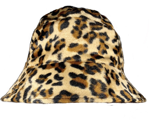 Reversible Leopard Hat