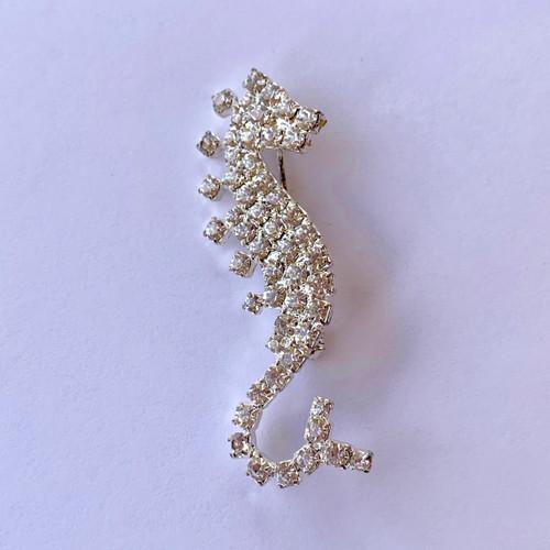 Seahorse Brooch Pin