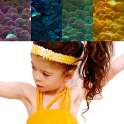 Super Stretch Elastic Sparkling sequence Headband