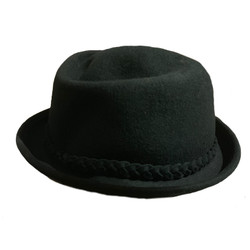 Traveler Wool Felt Fedora Hat