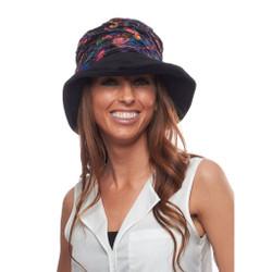 Laid Back Velvet Bucket Hat for Ladies