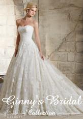 Morilee Bridal Wedding Dress Style 2787 Ivory Size 14 on Sale