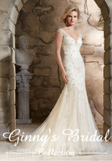 Morilee Bridal Wedding Dress 2788 Ivory Size 12 on Sale
