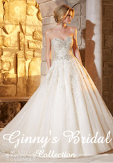 Morilee Bridal Wedding Dress Style 2791 Ivory Size 18 on Sale