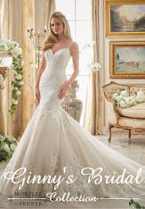 Morilee Bridal Wedding Dress Style 2871 Ivory/Champagne Size 14 on Sale