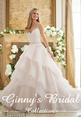 Mori Lee Wedding Dress 2873 Ivory Size 12 on Sale