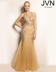 JVN by Jovani JVN24429 Nude Size 8 on SALE