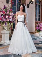 Sincerity Bridal by Justin Alexander Bridal Dress 3832 Ivory Size 12 on Sale