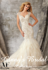 Angelina Faccenda Couture Bridal Gown by Mori Lee 1341