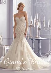 Mori Lee Wedding Dress 2691 Ivory Size 12 on Sale
