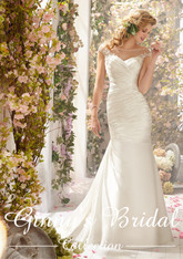 Voyage by Mori Lee Wedding Dress 6777 White Size 14 on Sale