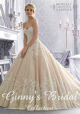 Mori Lee Bridal Wedding Dress Style 2674