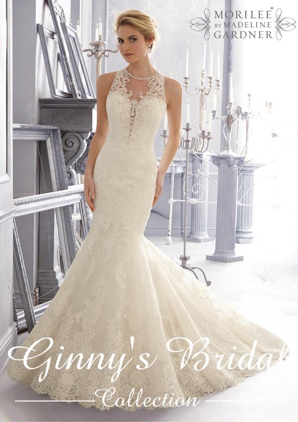 Mori Lee 2018 Wedding Dresse 2683