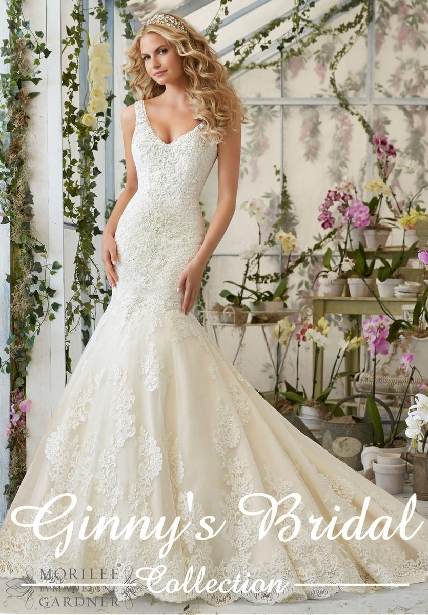 e7761d4bb313 ... Mori Lee Bridal Wedding Dress 2814. Image 1. Image 1. Image 2. Image 3.  Image 4. See 3 more pictures