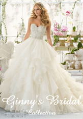 Mori Lee Bridal Wedding Dress 2815