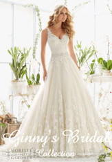 Mori Lee Bridal Wedding Dress 2821